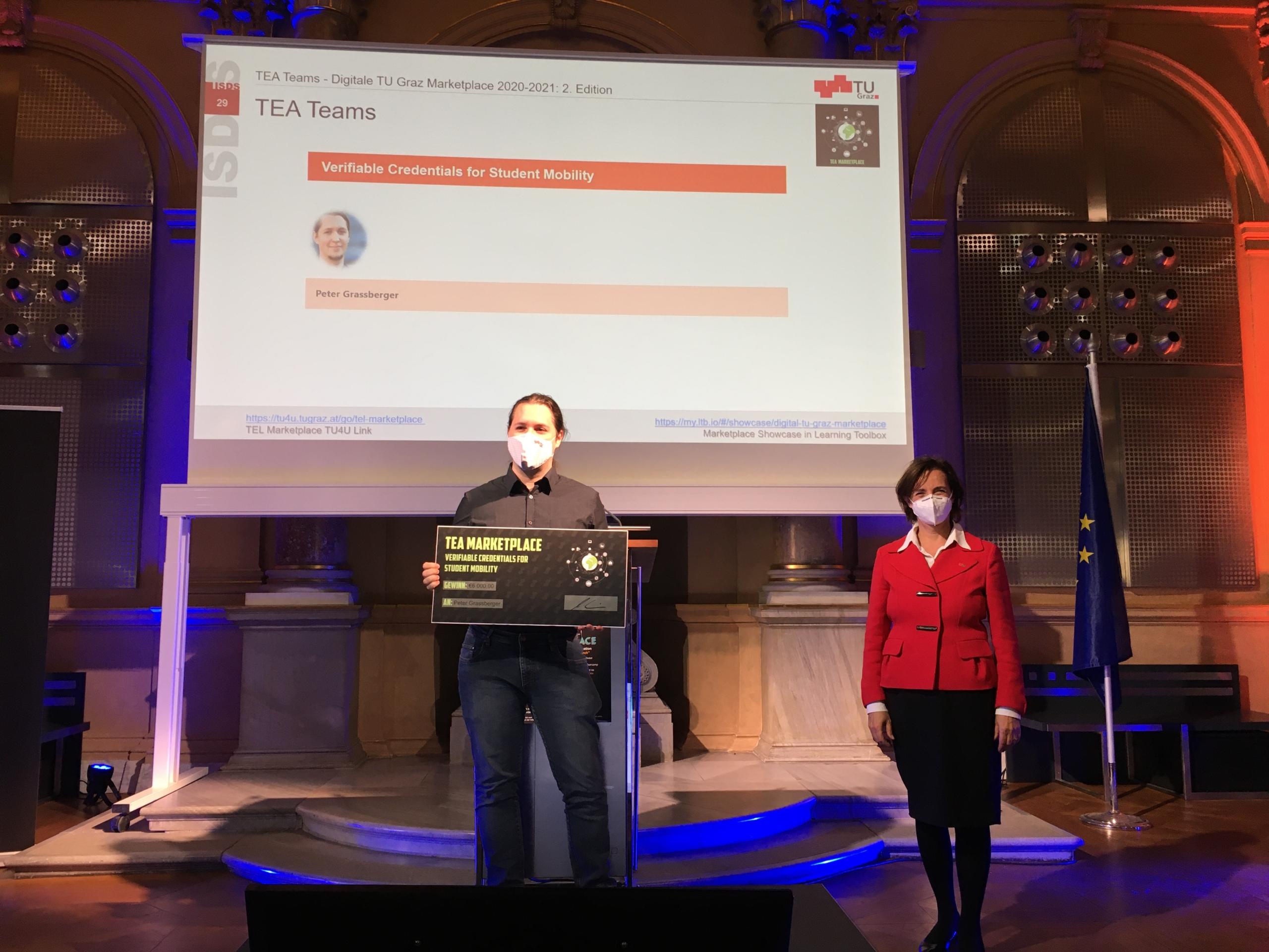 Peter Grassberger awarded funding by Digitale TU Graz